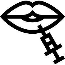 Lippenmodellierung/Lippenaufspritzung
